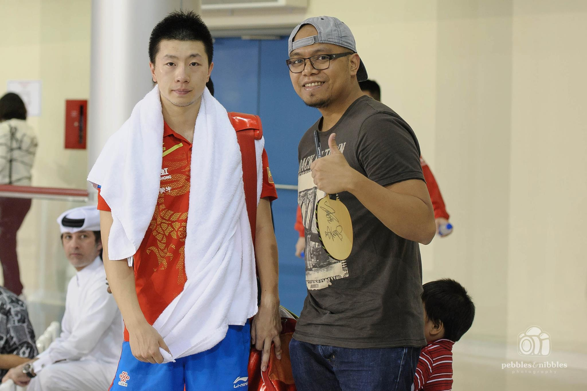 Photo of Ma Long & his friend